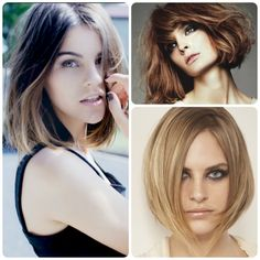 Great Hair Cut & Color Combinations: The Hand Painted Bob