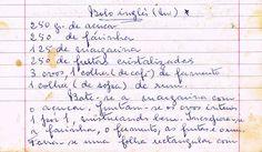 As Receitas da Avó Helena e da Avó Eduarda: Bolo Inglês (Mi)