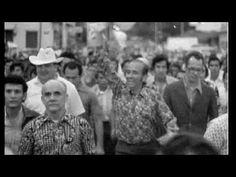 Carlos Andrés Pérez en campaña por el Edo. Bolívar. Venezuela 1973