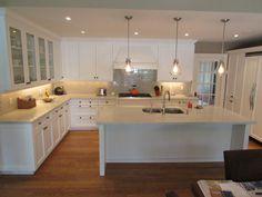 Refinished kitchen done by EcoRefinishers