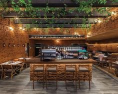 50 Friends Restaurant designed by Arquiconceptos / Photo by Enrique Macias.  Tag an #Architecture Lover! #d_signers