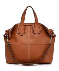 83dc24d89dd Take a look at this Brown Amanda Leather Tote on zulily today! Amanda