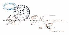 *The Graphics Fairy LLC*: Vintage Ephemera Clip Art - Paris Letter with Postmark