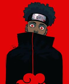 """Dropping another character design commission for you guys, this character's name is """"Sake"""". More artwork coming all throughout the week. Fantasy Character Design, Character Art, Anime Gangster, Graffiti Doodles, Dope Cartoon Art, Black Anime Characters, Black Art Pictures, Robot Concept Art, Anime Guys"""