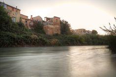 El río Turia en Riba-roja del Turia. Fotografía de Vicente Forés.