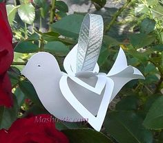 paper dove of peace (template)
