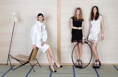 LESSON OF ELEGANCE SPRING-SUMMER 2013 READY-TO-WEAR CAMPAIGN – Chanel News - Fashion news and behind the scene features