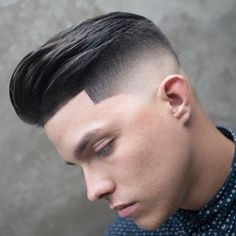 Fade haircuts for men are still some of the most popular men's haircuts to get. Check out these brand new fresh men's fade haircut styles! Best Fade Haircuts, Cool Boys Haircuts, Trendy Haircuts, Haircuts For Men, Men's Haircuts, Mid Fade Haircut, Fade Haircut Styles, Hair Styles, Quiff Haircut