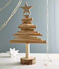 #scrap #wood #christmas #tree