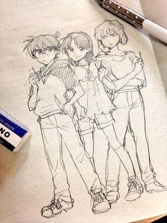 「コナンログ+女装」/「うりなる」の漫画 [pixiv]