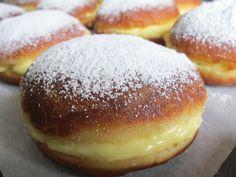 Tous FOOD' elles ...: Beignets fourrés à la crème vanille et nutella