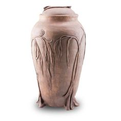 Weeping Willow Branches Ceramic Cremation Urn
