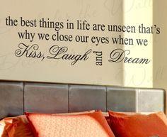 Sleep and get dreaming!