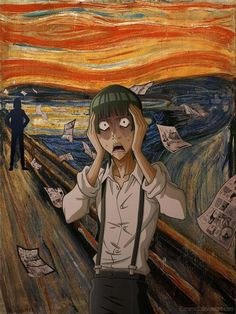 Bakuman - Hiramaru Kazuya - Otter 11 - The Scream - O Grito