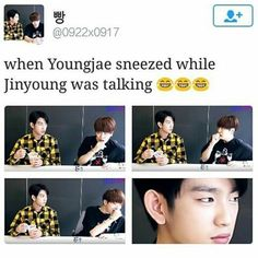 Lol, Jinyoung and Youngjae