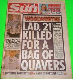 THE SUN NEWSPAPER - 4 Nov 1994 -FERGIE