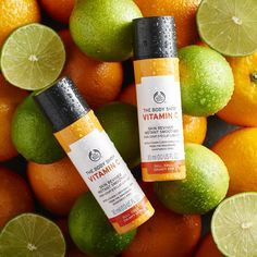 Say bye-bye to tired and grumpy skin with our Vitamin C skin reviver. Juicy moisture helps smooth skin and reveal your natural . Body Shop At Home, The Body Shop, Lip Care, Body Care, Happy Skin, Skin Routine, Natural Glow, Moisturiser, Smooth Skin