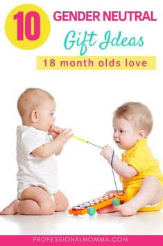 Looking for the best Christmas gift ideas for 18 month olds? Read this for unique, gender neutral, gifts toddlers will play with well past the holidays. Advice For New Moms, Mom Advice, Toddler Gifts, Gifts For Kids, Gender Neutral Toys, Working Mom Tips, 18 Month Old, Pregnancy Advice, Thing 1
