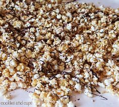 snicker carmel corn- made this and everyone loved- will make again, and again and again.....