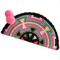 Costa Abanico Wayuu Clutch. Handmade and Fair Trade Wayuu Clutches – LOMBIA & CO. | www.LombiaAndCo.com