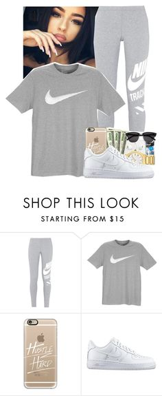"""""""Miss Mary Mack X Juicy J ft. Lil Wayne & August Alsina"""" by yasmin-and-joelle ❤ liked on Polyvore featuring NIKE and Casetify"""