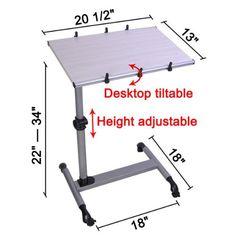 Rapture Lifting Mobile Computer Desk Bedside Sofa Bed Notebook Desktop Stand Table Learning Desk Folding Laptop Table Adjustable Table Office Furniture