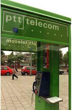 Things of the past ( 70's, 80's, 90's ) - Dingen van vroeger ( 70's, 80's, 90's ) ( PTT telefooncel )