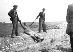 The last photograph of Paul Maitla (in the first photograph, second from left) together with 4 other Estonian soldiers. Then the shots of red Czechs ended their lives. The fate of Paul Maitla was.