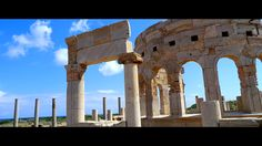 The Marketplace at Leptis Magna, Libya
