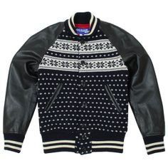 Junya Watanabe Comme des Garcons MAN Jacquard Varsity Jacket