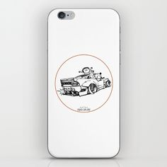 Crazy Car Art 0007 iPhone Skin by mame_ozizo Weird Cars, Car Illustration, Kustom Kulture, Iphone Skins, Old School, Notebook, Drawings, Artwork, Stuff To Buy