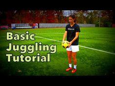 How To Juggle a Soccer Ball   Basic Tutorial   YFutbol - YouTube