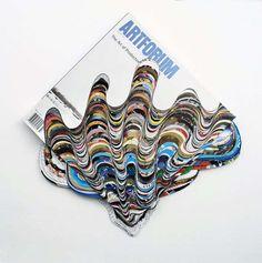 Artist Francesca Pastine Mesmerizes with Cut Paper Sculptures #psychedelicart trendhunter.com