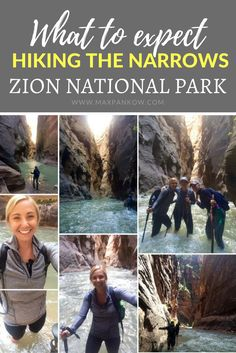 What to expect hiking the Narrows at Zion National Park