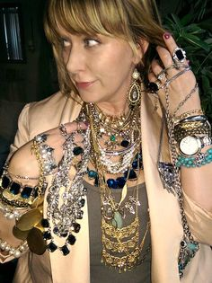 Sometimes you just have to keep close the things you love.  www.chloeandisabel.com/boutique/jilljones #overthetop #diva