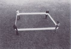 Franz Erhard Walther / Vier Korpergewichte (Four Body Weights), 1968