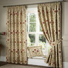 art nouveau design curtains