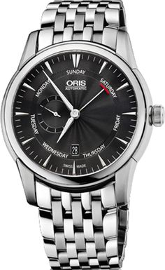 Oris Artelier Small Second, Pointer Day 74576664054MB
