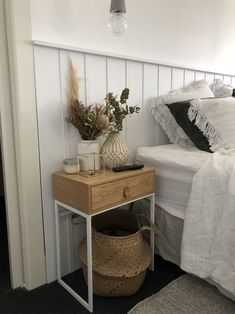 Source by carleej The post DIY wall panel bedhead l Decorative design feature in bedroom & STYLE CURATOR appeared first on Atkinson Decor. Diy Wand, Bedroom Bed, Bedroom Decor, Feature Wall Bedroom, Bedroom Wall Panels, Panel Walls, Diy Bett, Modern Bathrooms Interior, Kitchens And Bedrooms