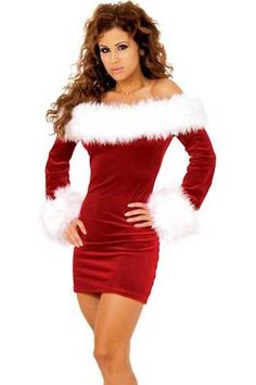 Sexy Christmas Dress Women Adult Red Long-sleeve Strapless Party Dress Christmas Festival Clothes Off Shoulder Plus Size XXL-M Sexy Christmas Outfit, Xmas Party Outfits, Christmas Dress Women, Christmas Lingerie, Red Christmas, Womens Christmas, Christmas Dance, Christmas Clothes, Cheap Christmas