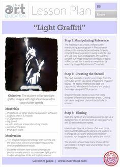 Creating Light Graffiti!