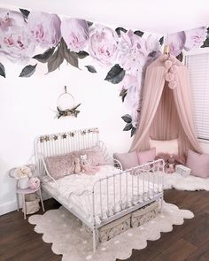 Bedroom Decoration 50 easy photos and ideas - Page 36 of 50 - my room - Bedroom Big Girl Bedrooms, Little Girl Rooms, Childrens Bedrooms Girls, Bedroom Girls, Baby Room Decor, Bedroom Decor, Bedroom Furniture, Girl Decor, White Furniture
