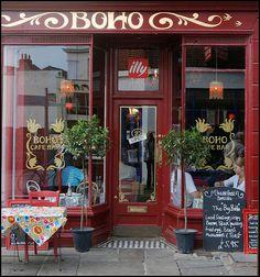 Boho cafe, and bar, Canterbury England photo by gr1234, via Flickr