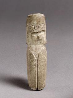 Standing Figure, late 3rd millennium B.C.  Ecuador; Valdivia  Stone