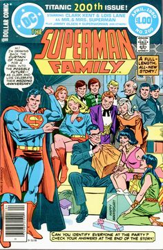 superman family dc comics covers - Yahoo Image Search Results