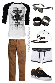 """""""Untitled #239"""" by ohhhifyouonlyknew ❤ liked on Polyvore featuring Retrò, Ray-Ban, River Island and American Eagle Outfitters"""
