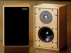 HARBETH HL-P3ES-2  2003 Monitor Speakers, Diy Speakers, Bookshelf Speakers, Wooden Speakers, Diy Amplifier, Cool Bookshelves, Loudspeaker, Audio Equipment, Audio System