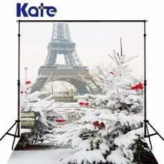 Find More Background Information about Kate Christmas Tree No Wrinkles Backdrop Winter Frozen Snow Background Photography Eiffel Tower White Photo Studio,High Quality background photography,China white photo Suppliers, Cheap backgrounds photography studio from Art photography Background on Aliexpress.com
