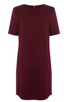 This t-shirt dress features short sleeves, a shift cut and textured panelling #WARESTYLESS15WISHLIST