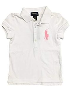 Polo Ralph Lauren Little T shirt. >>> Continue to the product at the image link. (This is an affiliate link) Polo Tees, Latest Fashion Trends, Girl Fashion, Image Link, Polo Ralph Lauren, Mens Tops, T Shirt, Women's Work Fashion, Supreme T Shirt